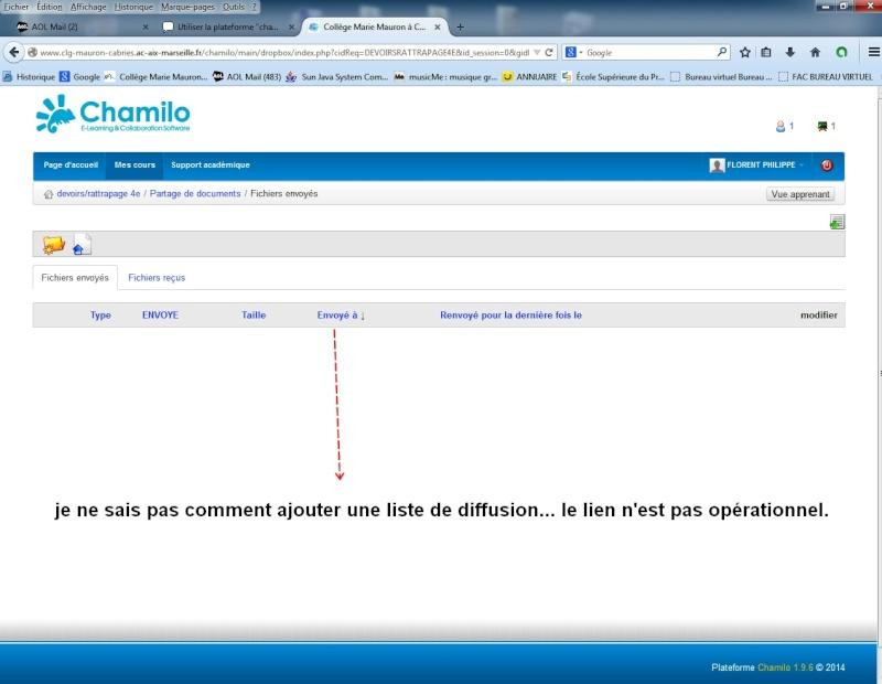 """Utiliser la plateforme """"chamilo"""" dans mon établissement Chamil11"""