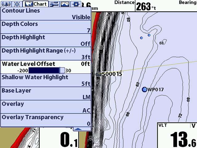 LakeMaster vs AutoChart mapping images Lakema10