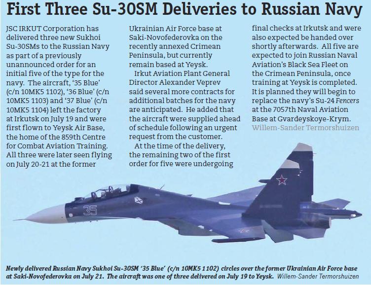 Su-30SM for VMF Su30sm11