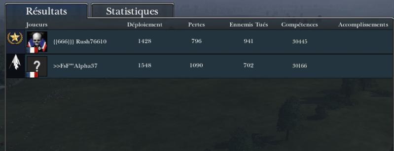 Bataille contre Alpha37  Alpha310