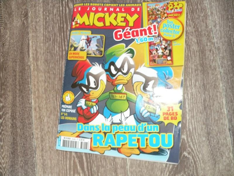 Le journal de Mickey N°3248 (avant gout) - Page 2 Dscn0125