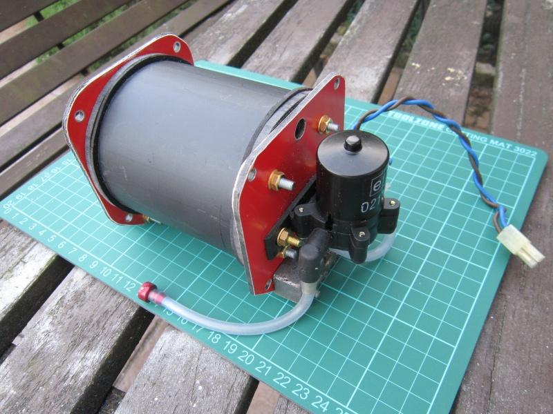 Pressure tank ballast system - ballast tank 1710