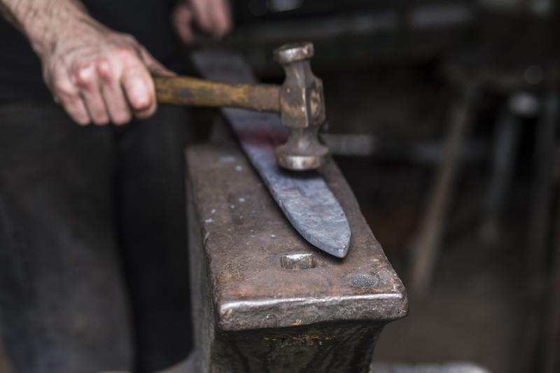 Forging a Barbarian Sword Img_2810