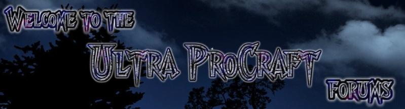 Ultraprocraft forums