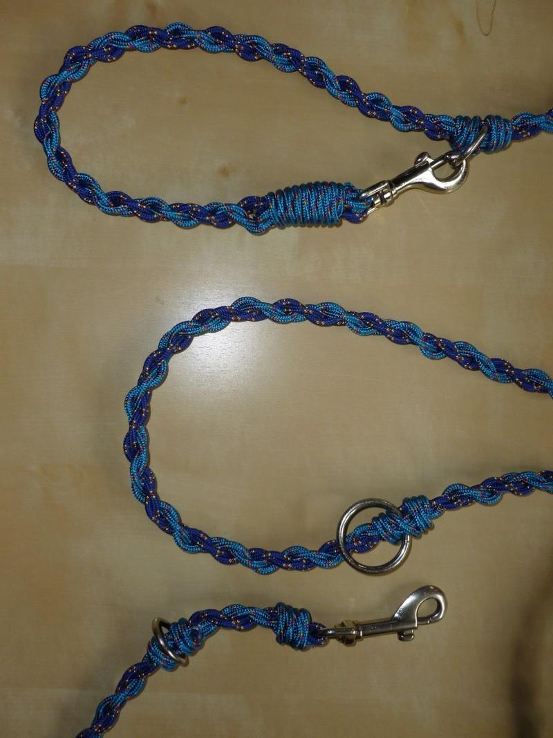 Fabriquer un collier en cordelette nouée (Paracorde) - Page 4 P1090211