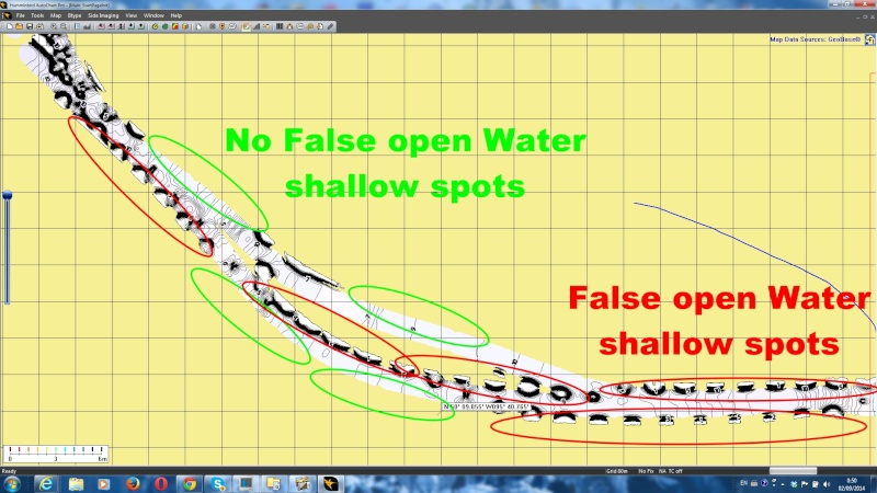 False shallow areas ?! Falseo10