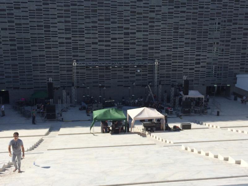 Elbow @ Cavea Nuovo Teatro dell'Opera, Florence 25/8/14 Img_0411
