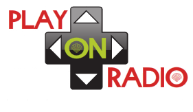 Un logo pour Play On Radio. Logo210
