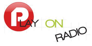 Un logo pour Play On Radio. Logo610