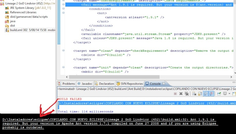 Eclipse Keepler Errors in Project Error210