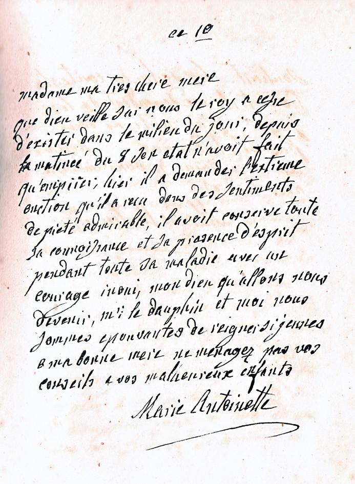 Correspondance entre Marie-Antoinette et sa mère  Zrus10