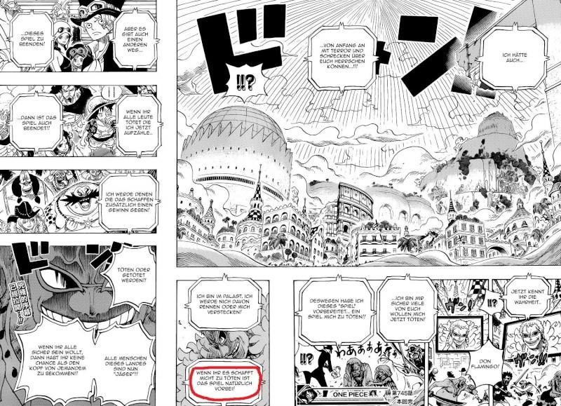 One Piece Kapitel 760: Die gleichen Wetteinsätze - Seite 3 Doflam10
