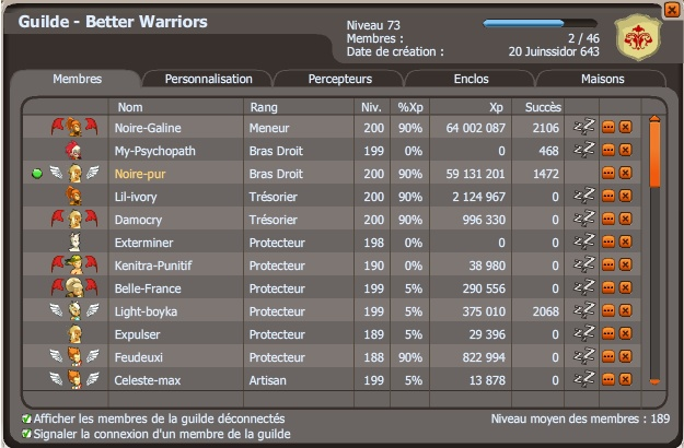 candidature du guilde Better Warriors [Refusée]. Boubou19
