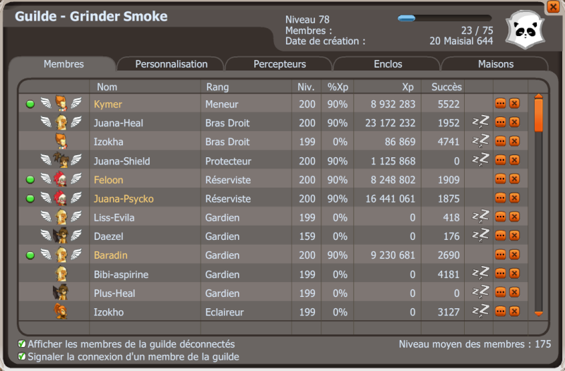Candidature de Grinder Smoke Guilde10