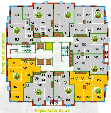 Схема дома F_aefa18