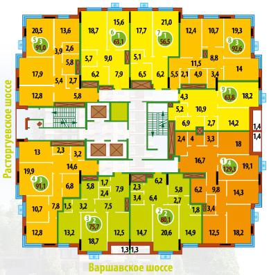 Схема дома F_ded711