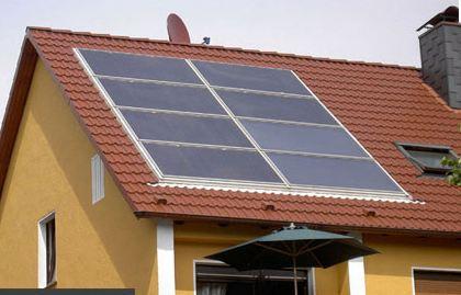 Réalisation d'un cadre photovoltaïque orientable pour injection batteries ou réseau (EDF). Paysag10
