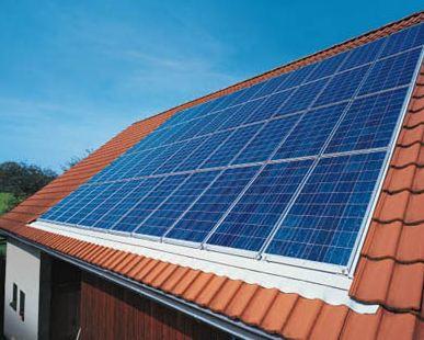 Réalisation d'un cadre photovoltaïque orientable pour injection batteries ou réseau (EDF). Portra10