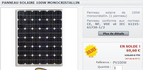 Réalisation d'un cadre photovoltaïque orientable pour injection batteries ou réseau (EDF). Pv_10010