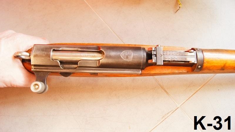 Petit Suisse - Custom sur Mousqueton K31. K31_3110