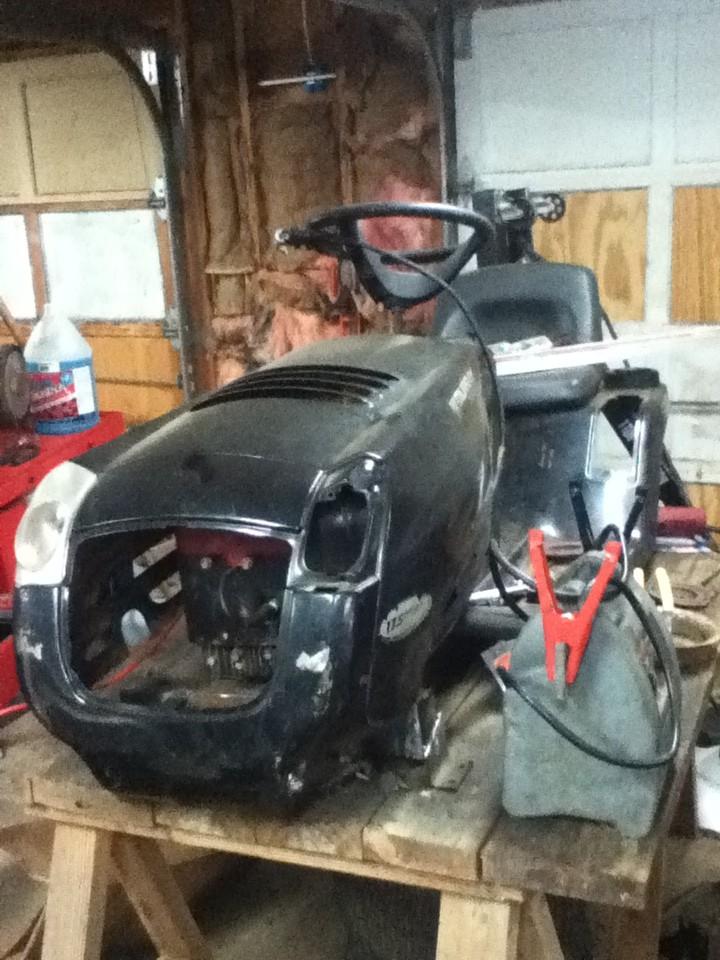 145 Murray Racing Mower