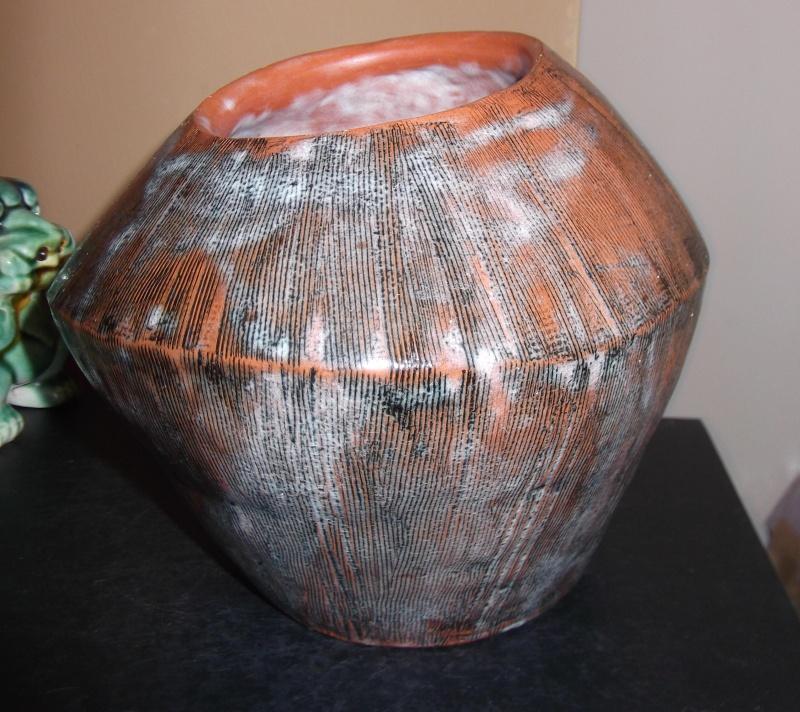 wonky vase marked ap w Dscf3011