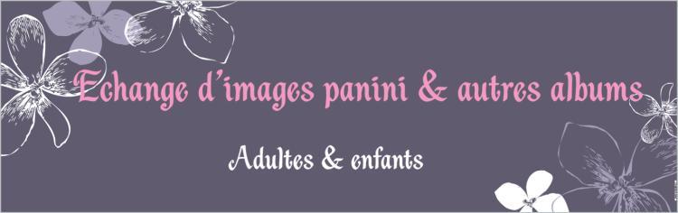 Échange d'images Panini et autres albums