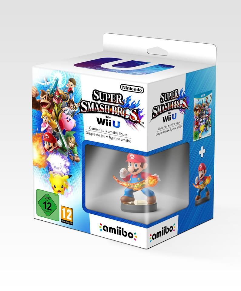 Pack Super Smash Bros WiiU 92251910