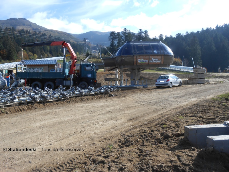 Travaux Le Lioran: Construction TSD6A Buron du Baguet Dscn1511