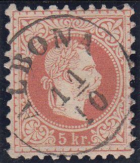 Freimarken-Ausgabe 1867 : Kopfbildnis Kaiser Franz Joseph I - Seite 7 Albona17