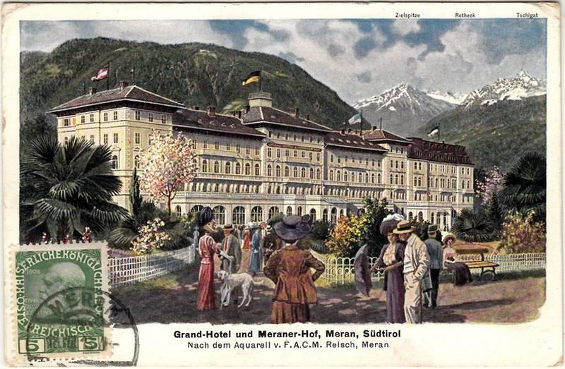 Südtirol Ansichtskarten und Schmuckumschläge Meran_17