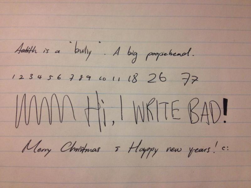Share your handwriting! Img_3812