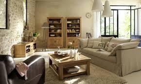 idée couleur murs salon/salle à manger meubles en chêne Images10