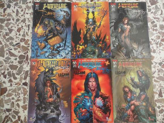 witchblade darkness  Bac68510