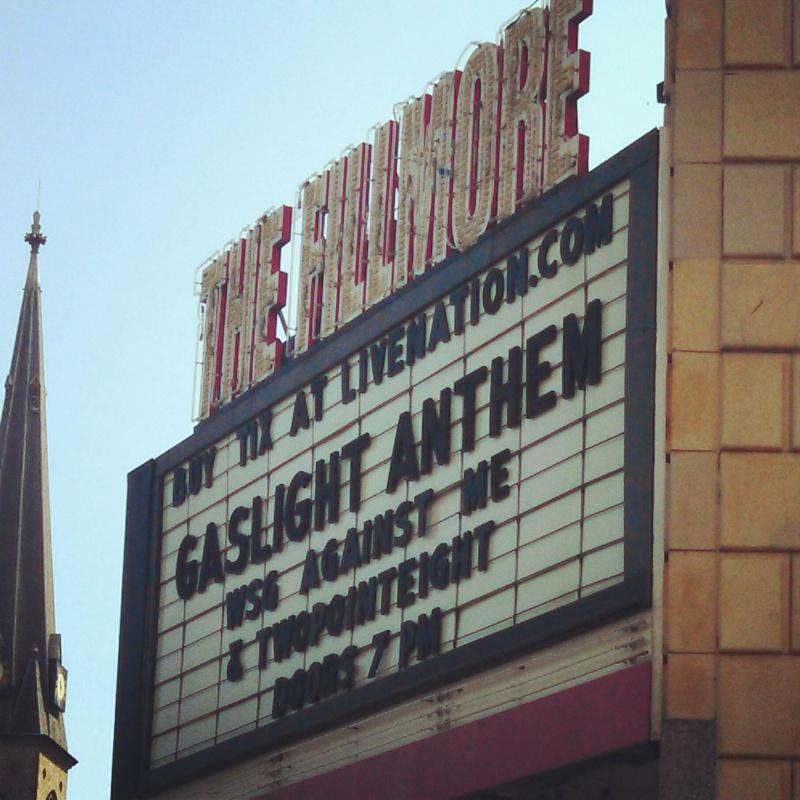 Gaslight Anthem in Detroit 9/20 Img_2012