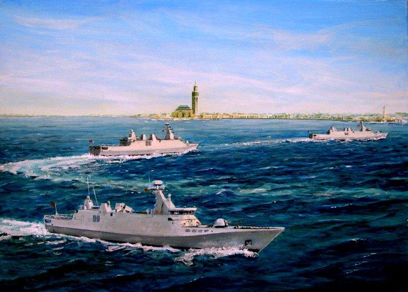 photos de quelques unités de notre flotte navale Marine24