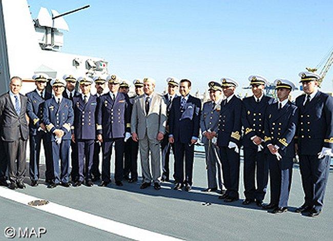 La fregate Tarik ibn Zyad du Maroc Marine26