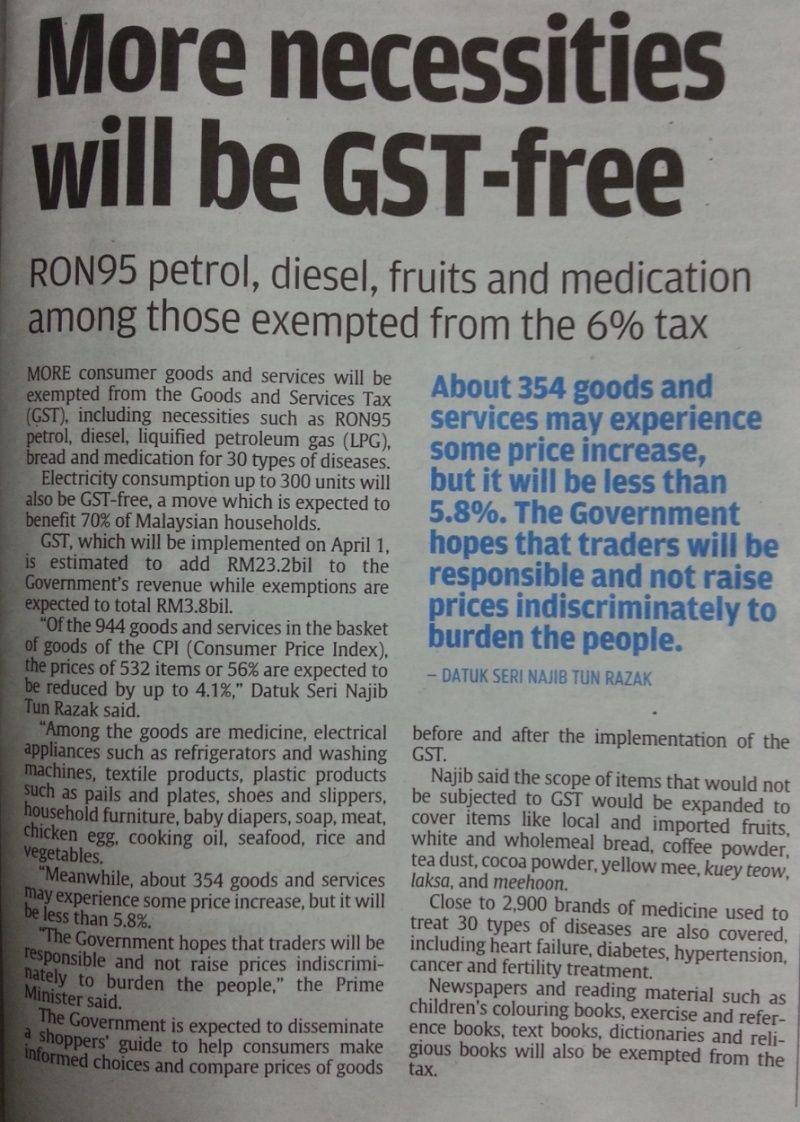 Budget 2015 GST News 2014-111