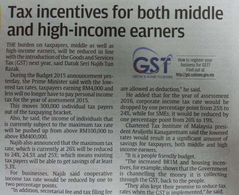 Budget 2015 GST News 2014-113