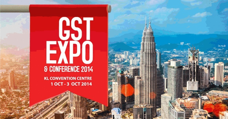 GST EXPO & CONFERENCE 2014 @ KL CONVENTION CENTRE 1 – 3 OCTOBER 2014 75b88010