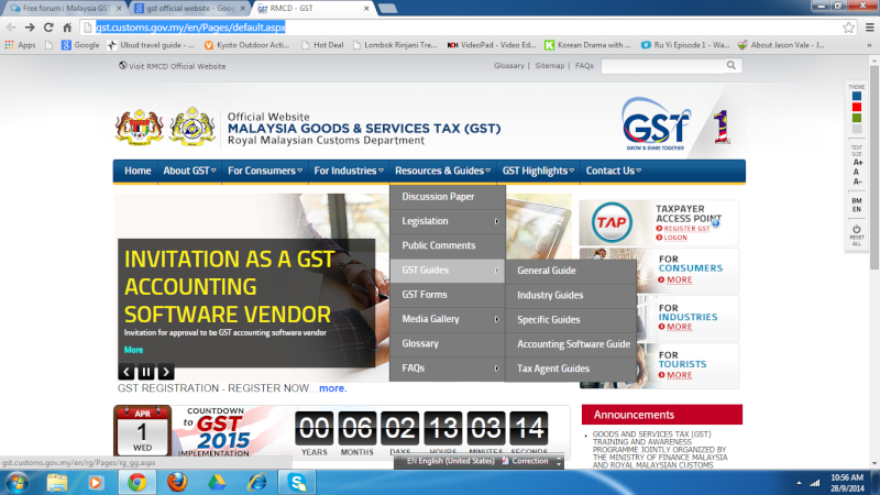 GST Official Website of Malaysian Customs Department Gst_of11