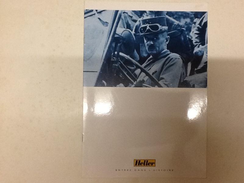 Plaquette de presentation du groupe HELLER AIRFIX HUMBROL 1994 Plaque10