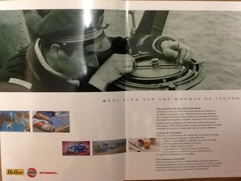 Plaquette de presentation du groupe HELLER AIRFIX HUMBROL 1994 Plaque11