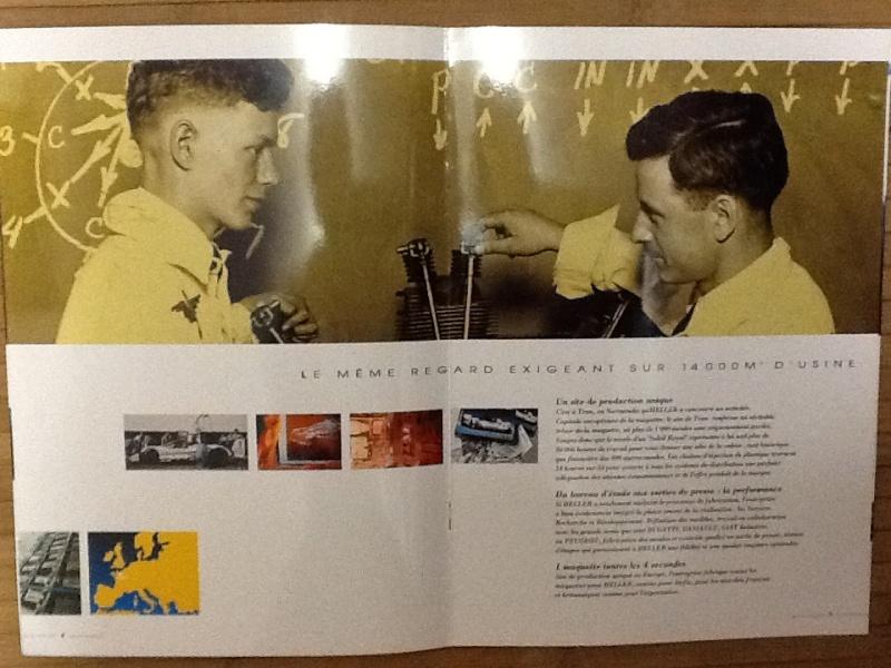 Plaquette de presentation du groupe HELLER AIRFIX HUMBROL 1994 Plaque12