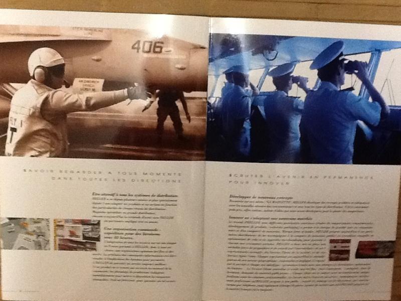 Plaquette de presentation du groupe HELLER AIRFIX HUMBROL 1994 Plaque13