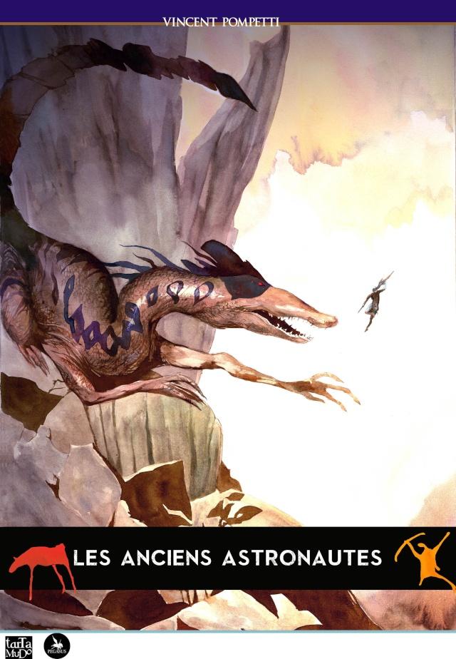 Les Anciens Astronautes - roman graphique de Fantasy en souscription  Covera11