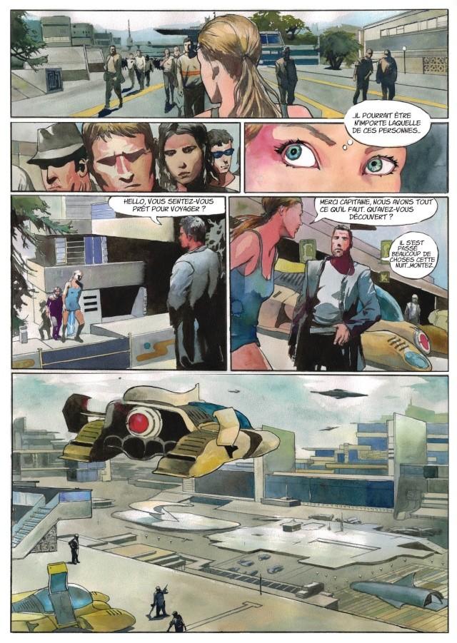 Les Anciens Astronautes - roman graphique de Fantasy en souscription  P710