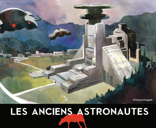 Les Anciens Astronautes - roman graphique de Fantasy en souscription  Pub1110
