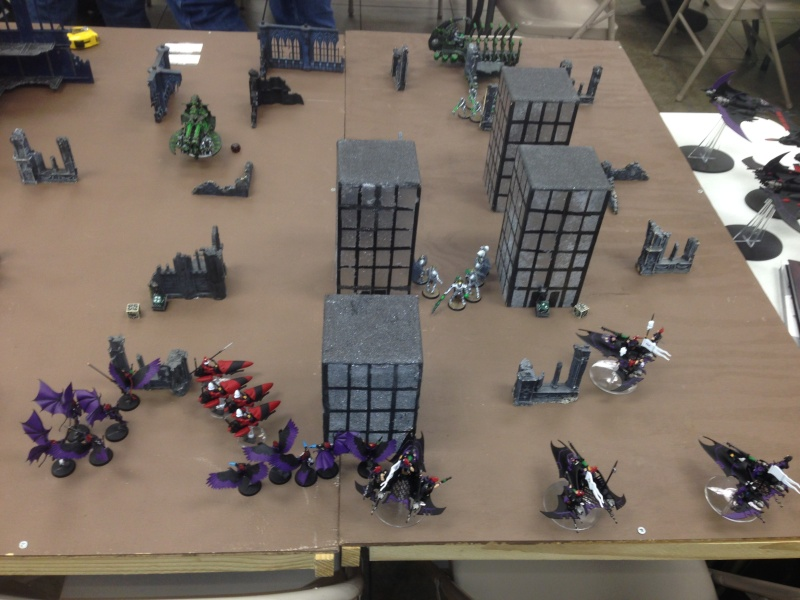 Two 1500 games vs Necron (one with transcendent c'tan) 2014-112