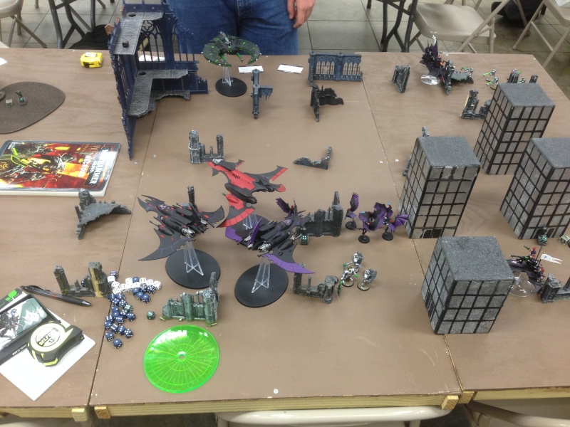 Two 1500 games vs Necron (one with transcendent c'tan) 2014-114